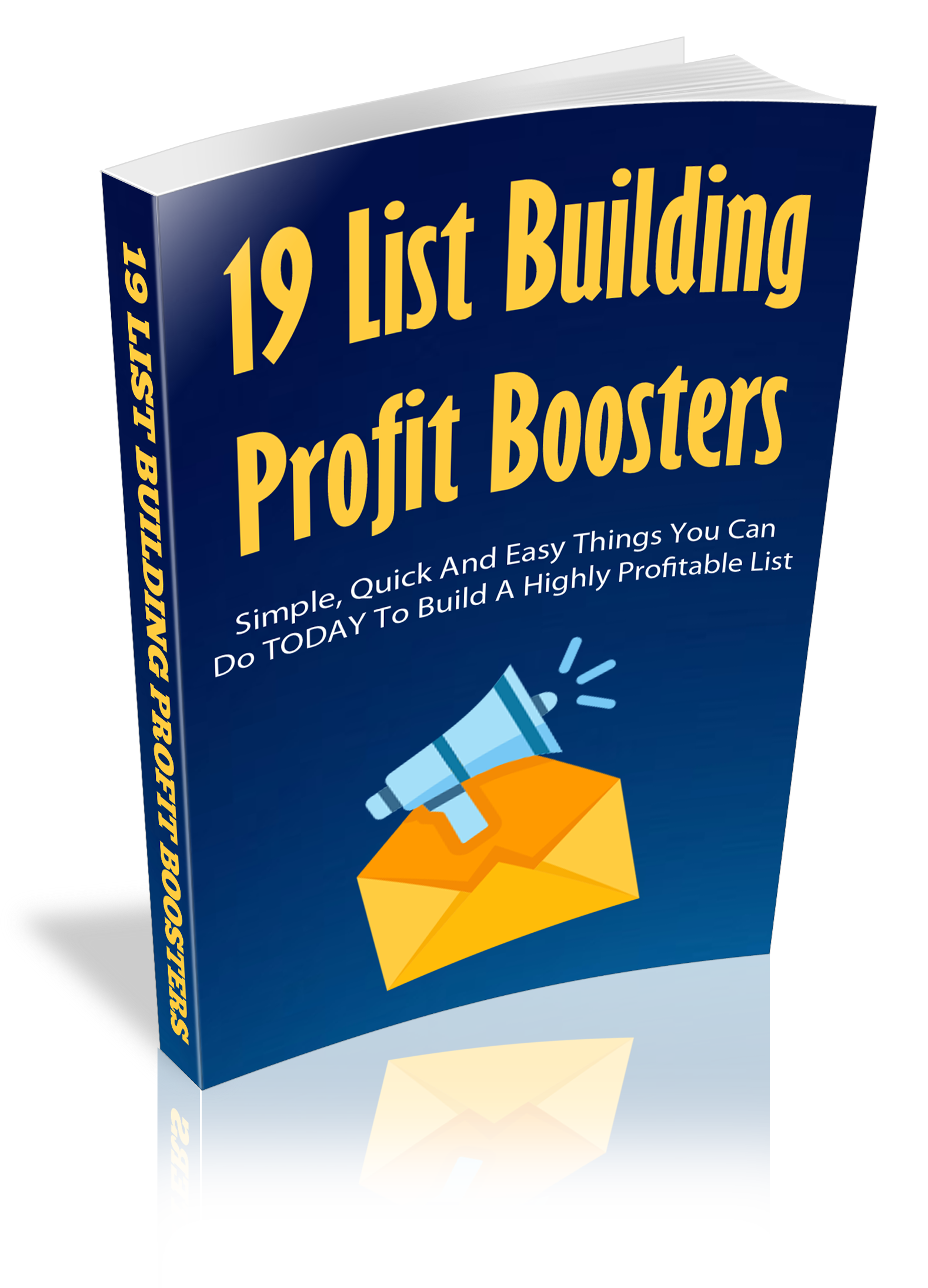 19 List Building Profit Boosters